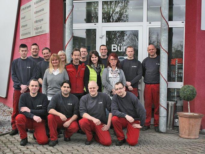 Das Team von Auto-Mietsam 2015