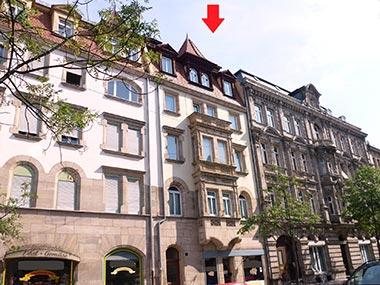 Jungendstil-Wohnung zur Vermietung in Fürth