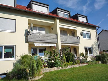 Wohnung mit Garten zur Vermietung in Wendelstein