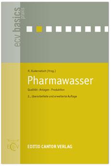 Buchtitel Pharmawasser von ecv basics